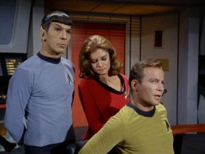 Star Trek Yeoman and Kirk